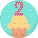 2 Year user badge