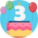 3 Year user badge
