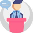 Communicator user badge