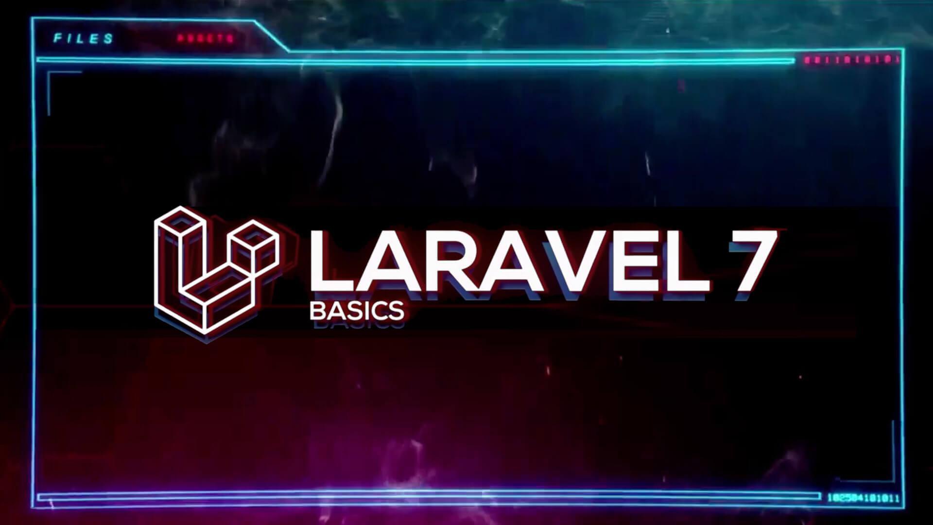Laravel 7 Basics