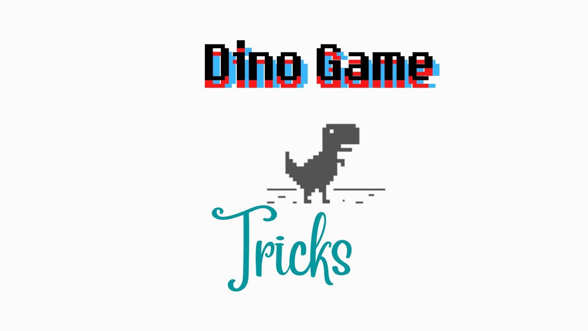 Chrome's Dino Game Tricks