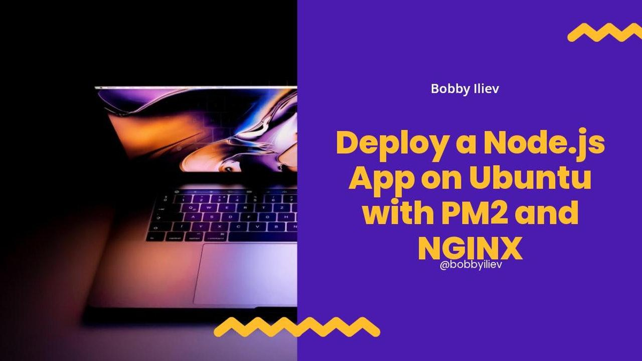 How to Deploy a Node.js App on Ubuntu with PM2, NGINX and Cloudflare