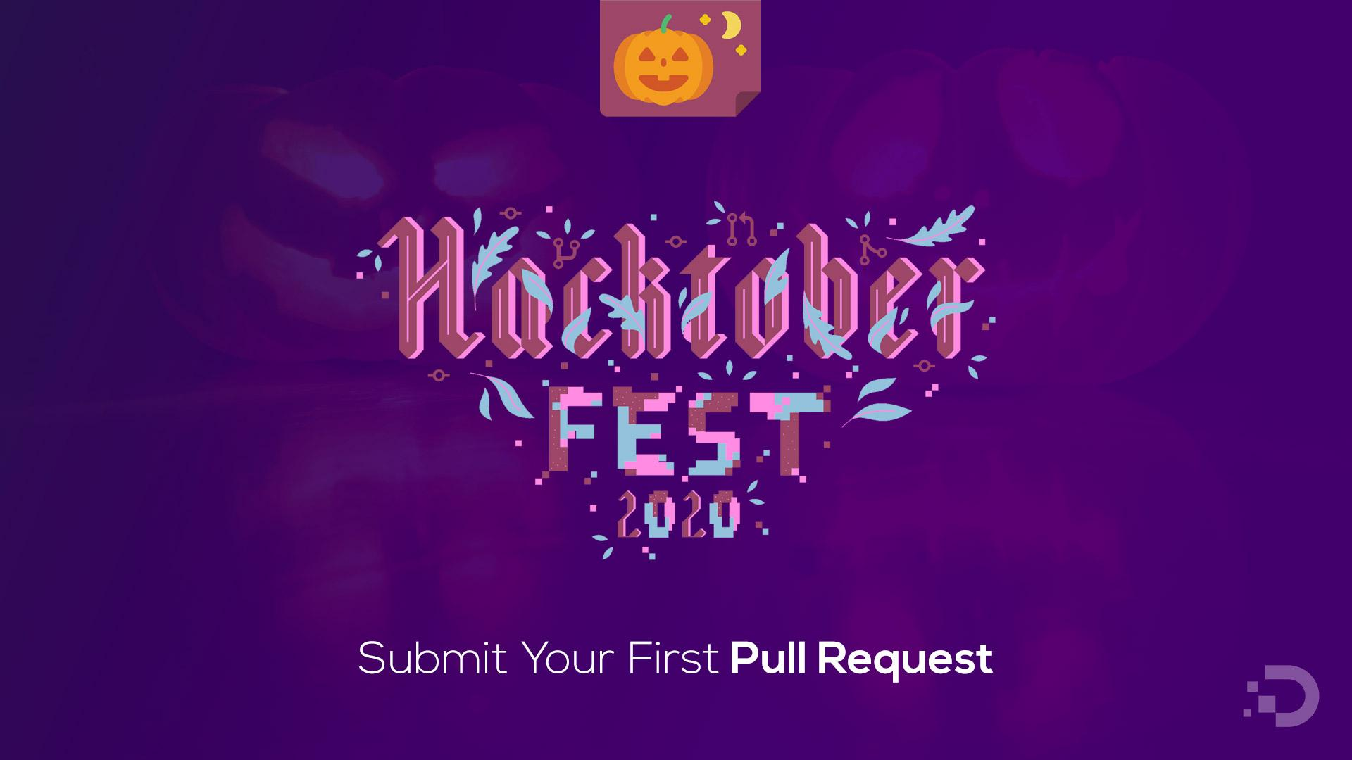 Hacktoberfest 2020 - Submitting your first pull request