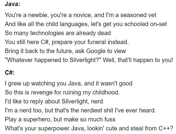 Java vs C#