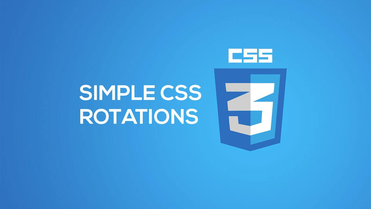Simple CSS Rotations