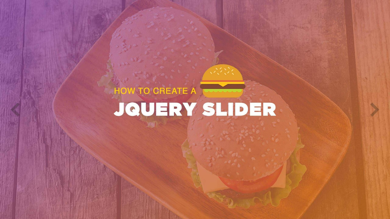 How to Create a jQuery Slider