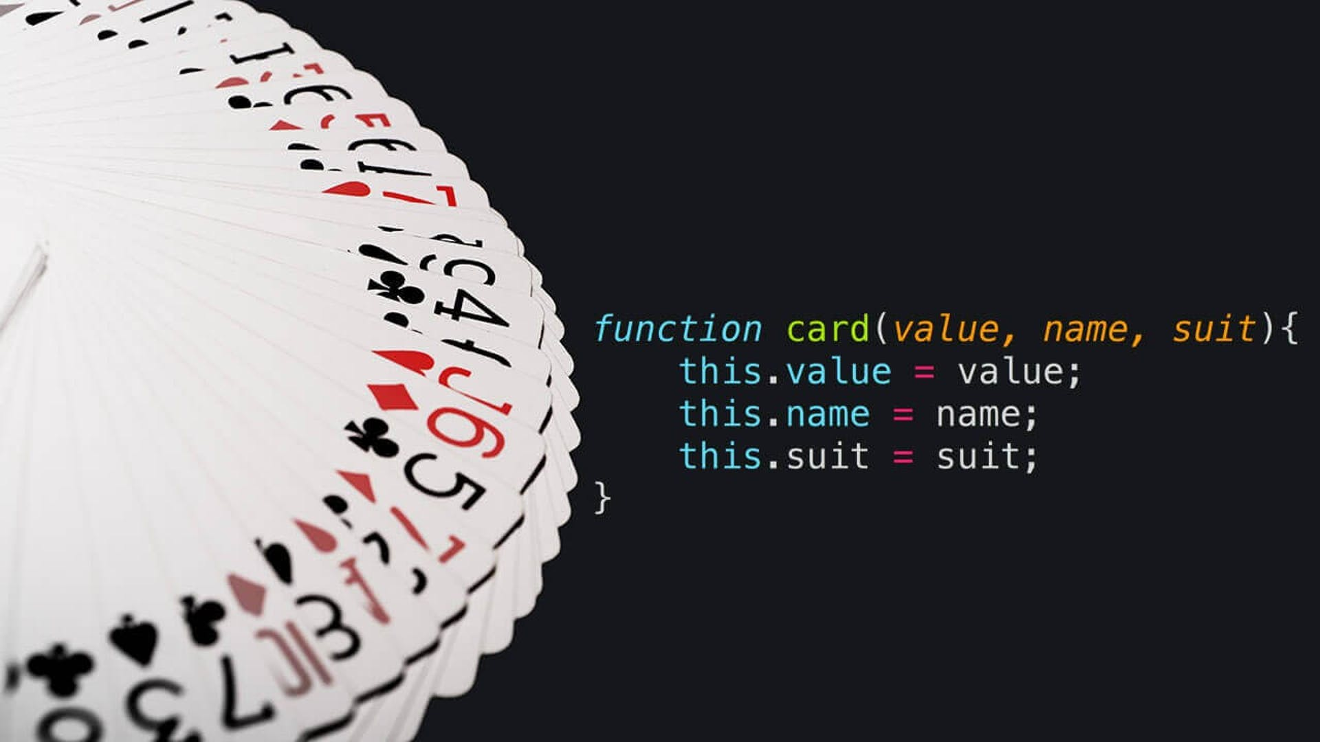 Create a Deck of cards in Javascript
