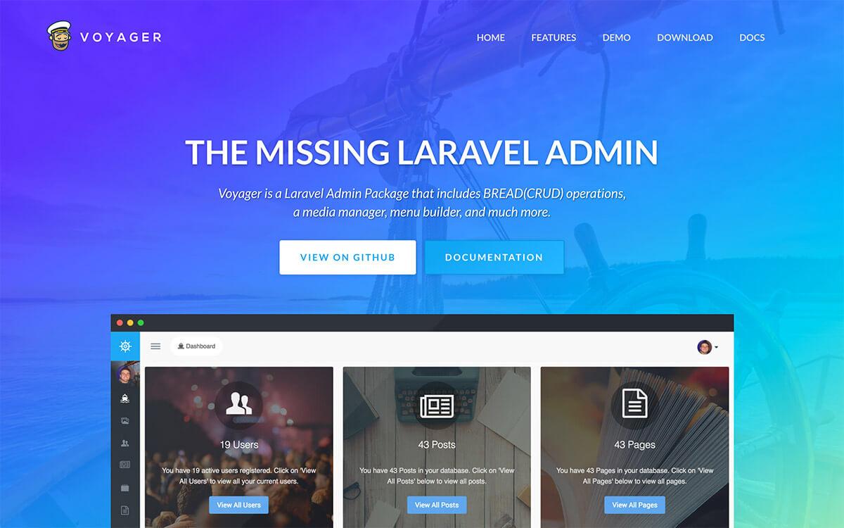 Laravel Voyager
