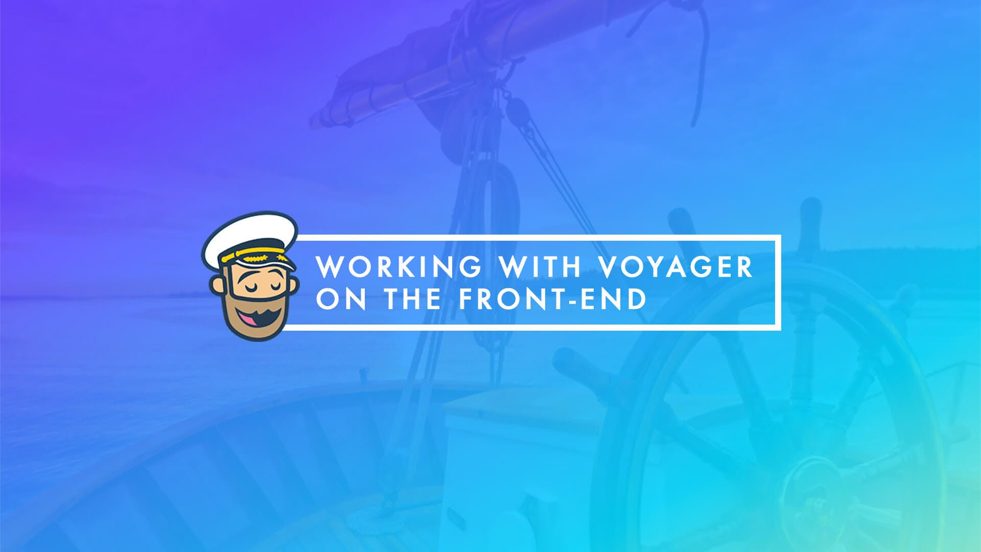 Working with Voyager on the Front-end