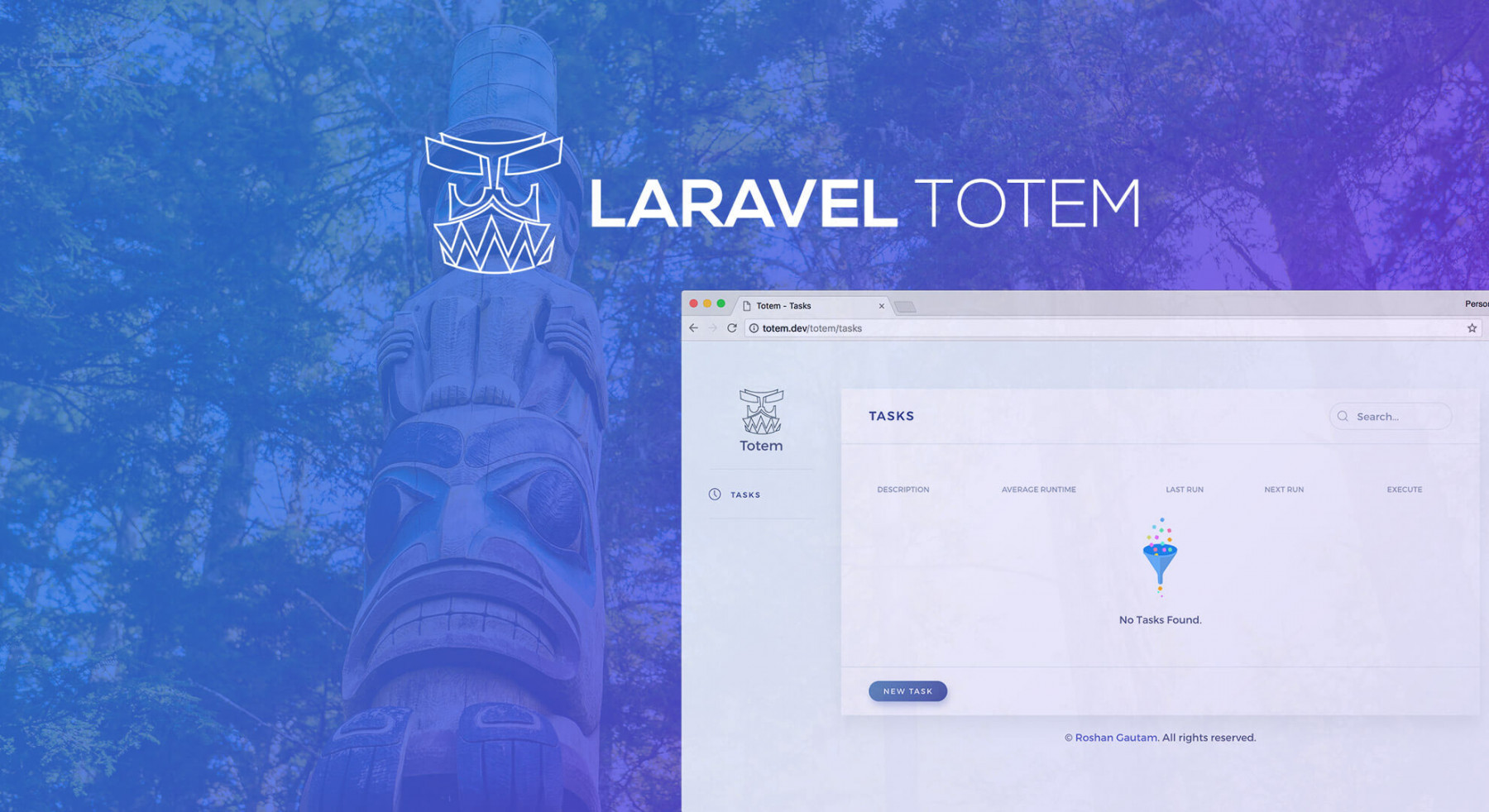 Laravel Totem - Manage your Laravel Schedules