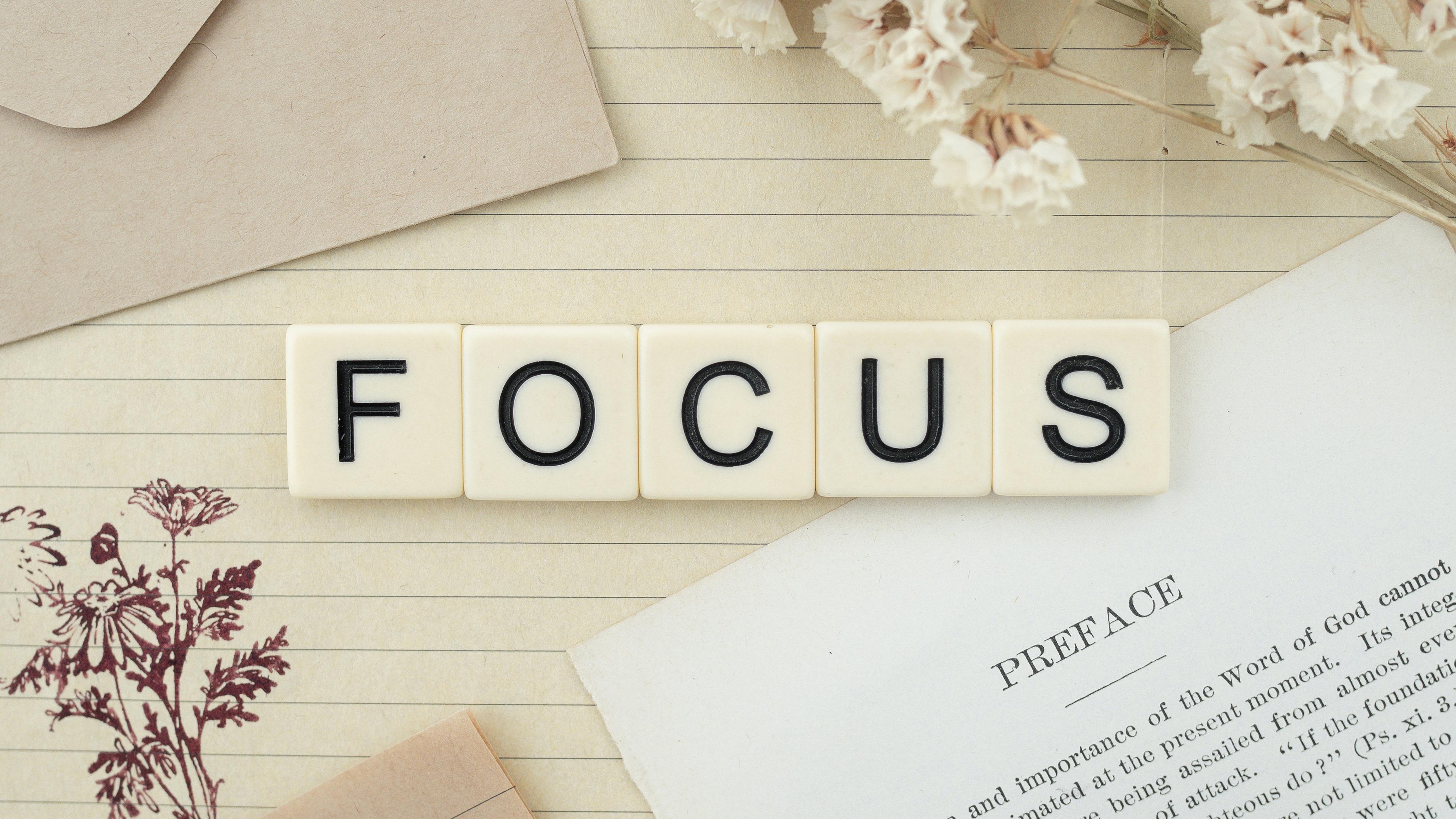 focus and stop procrastination