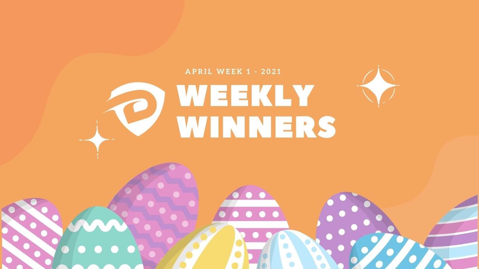 DevDojo Weekly Winners Week 1 April 2021