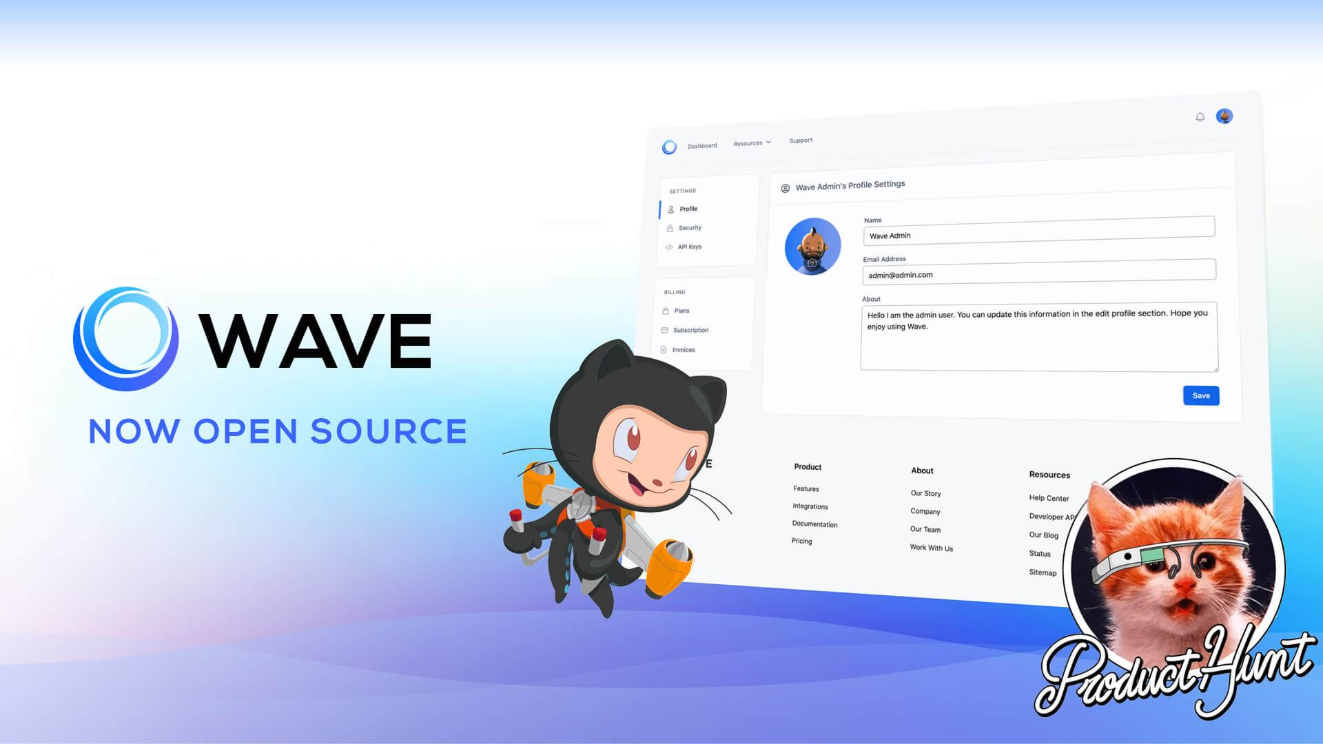 Wave V2 released and Open Sourced 🎉