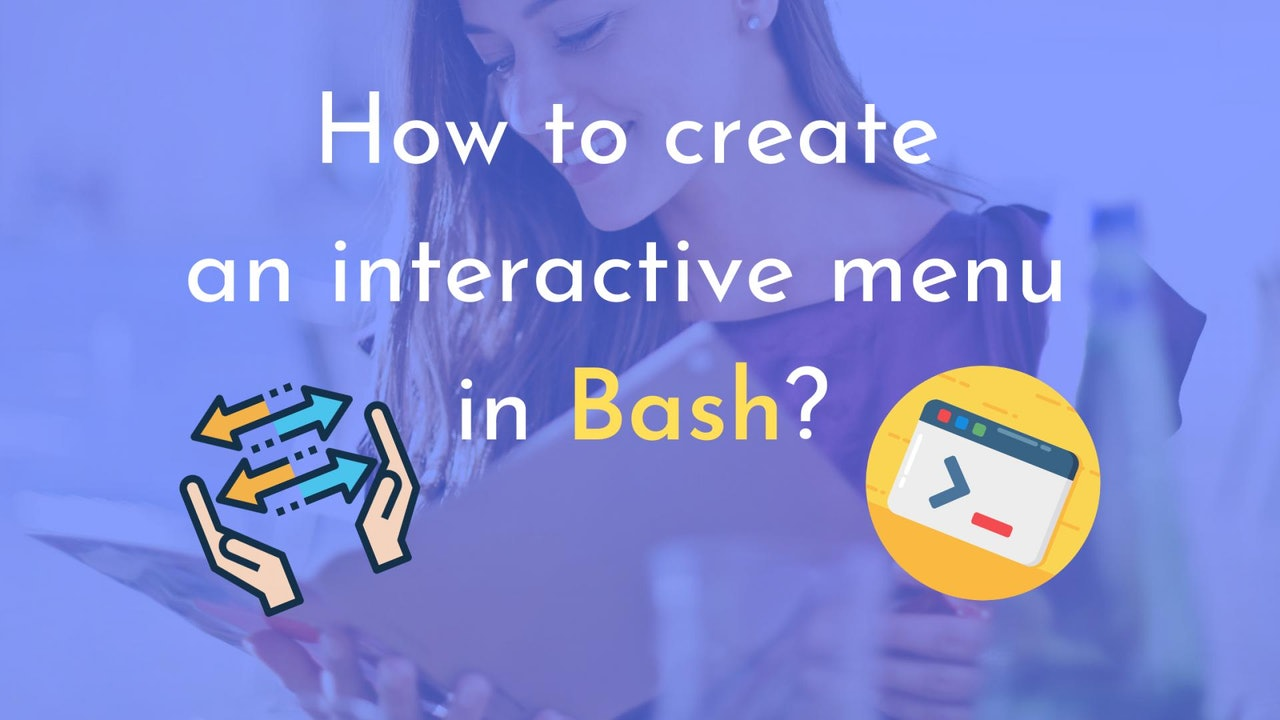 How to create an interactive menu in Bash?