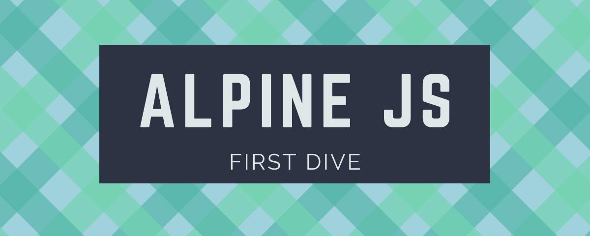 Fancy a modern alternative to jQuery? Meet AlpineJS