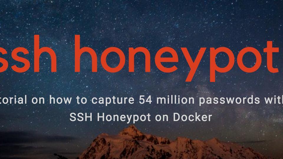 Capturing 54 Million Passwords with a Docker SSH Honeypot
