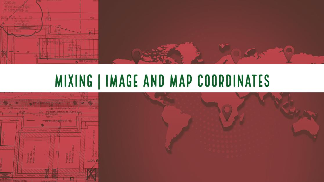 Mixing Image and Map coordinates