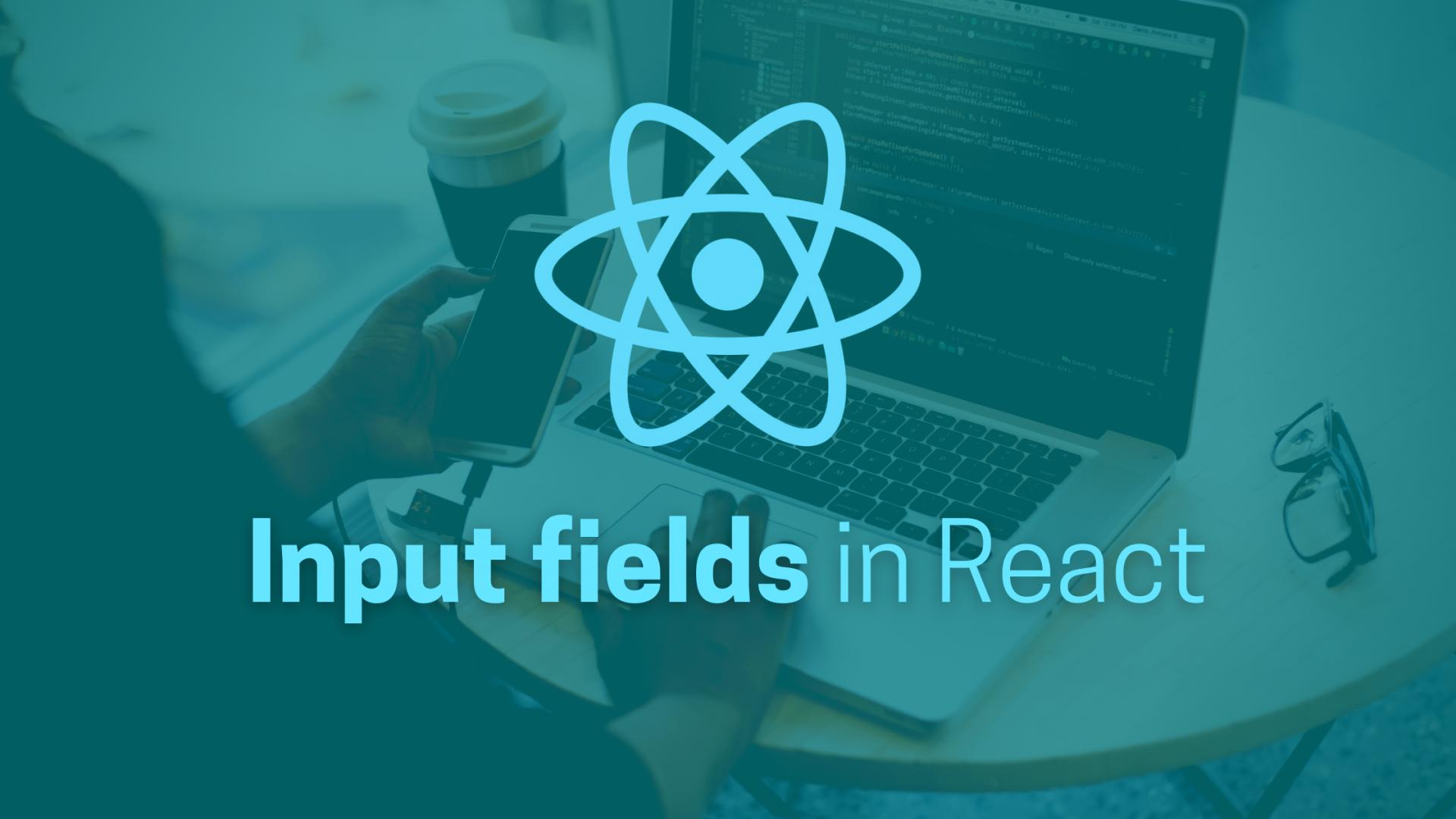 Working with input fields in React