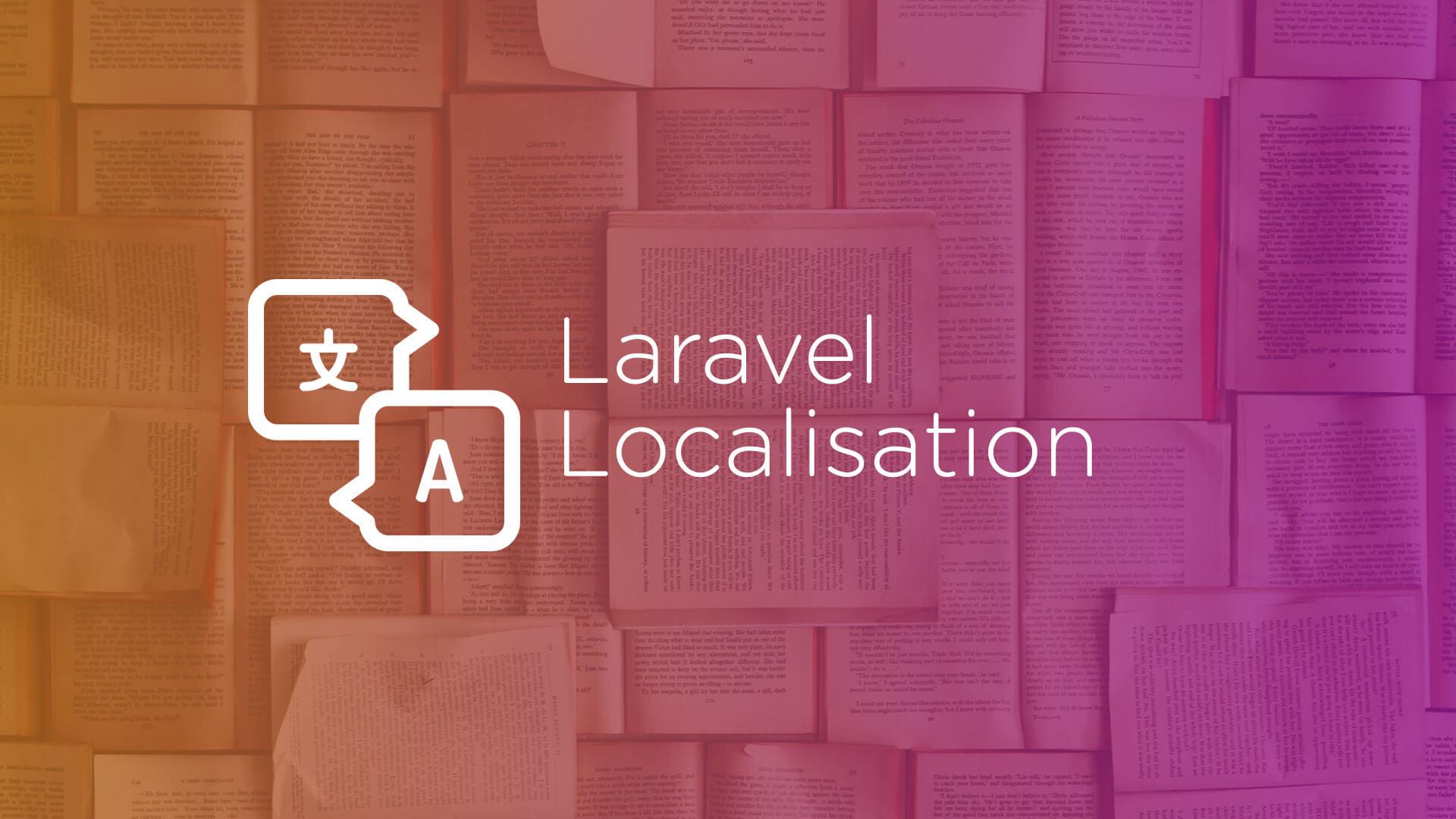 laravel -- Localisation