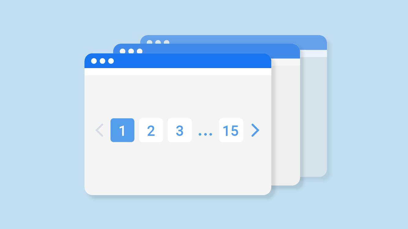 Simple article content pagination just like in WordPress