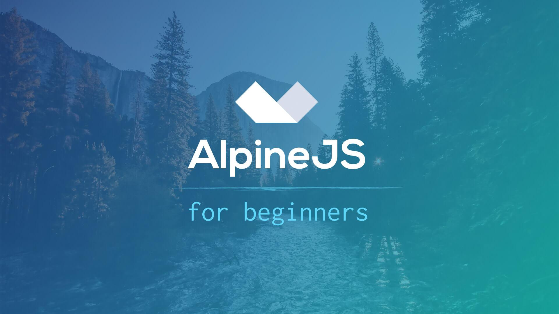 AlpineJS for Beginners