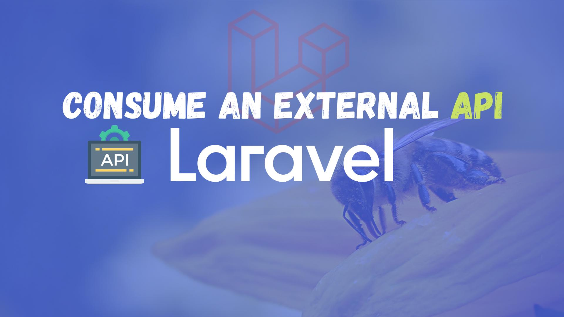 How to consume an external API with Laravel and Guzzle