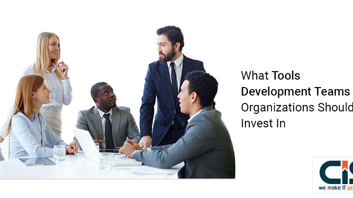 What tools, development teams, and organizations should invest in?