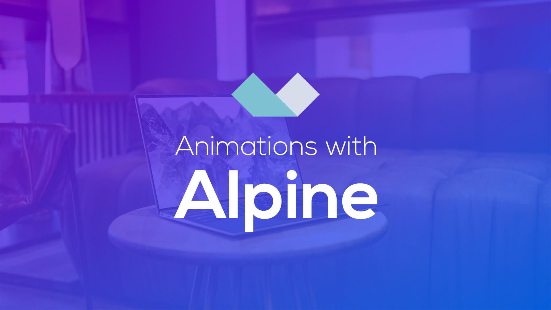 Animations with Alpine