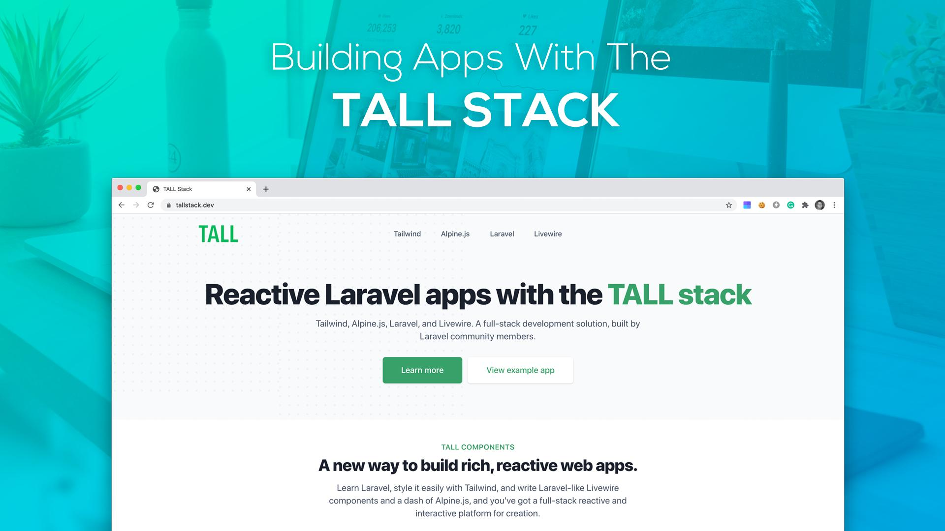 Building Apps with the Tall Stack