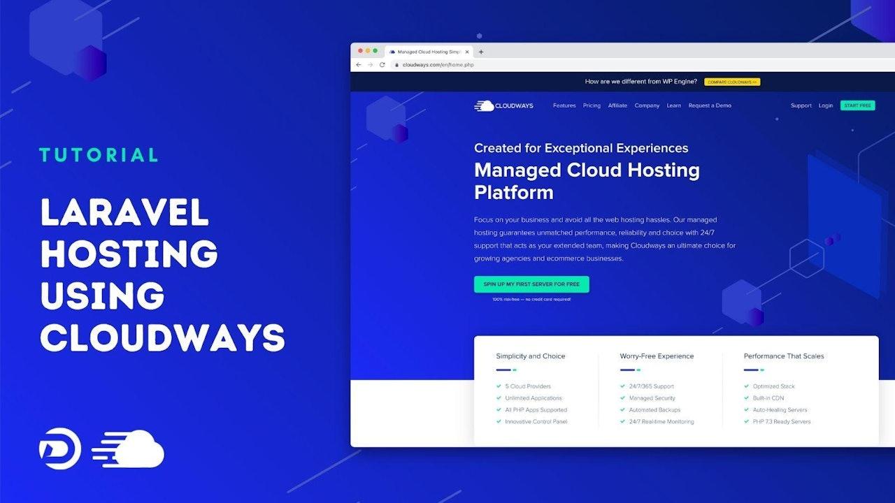 Laravel Hosting using Cloudways