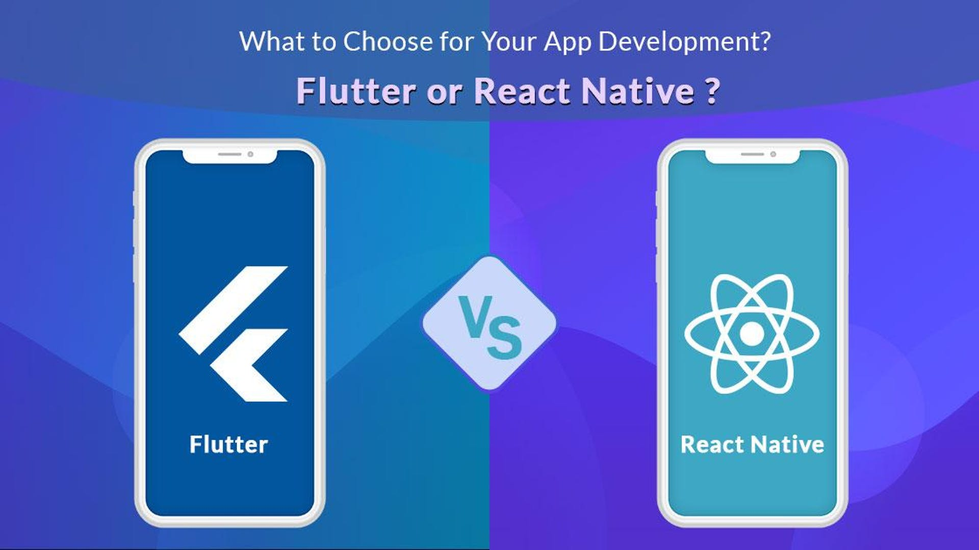 Flutter vs React Native- What You Need To Know