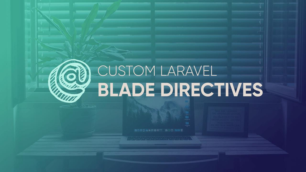 Custom Laravel Blade Directive