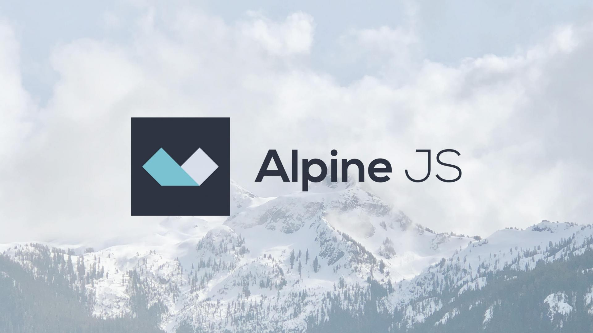 Intro to AlpineJS