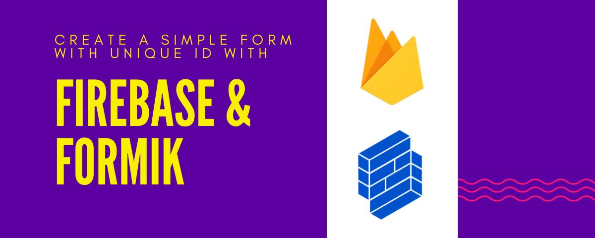 Create Forms with Formik and Firebase