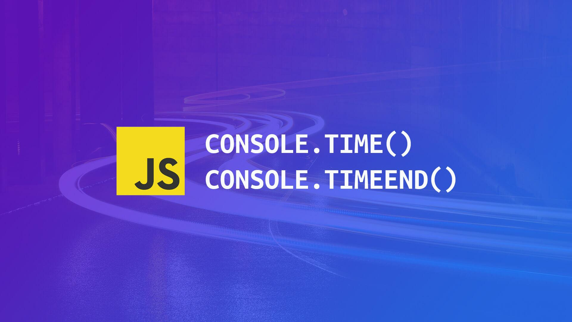 Timing Functionality in JavaScript