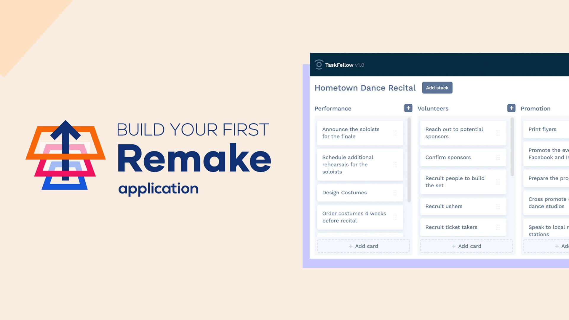 Build your first Remake app