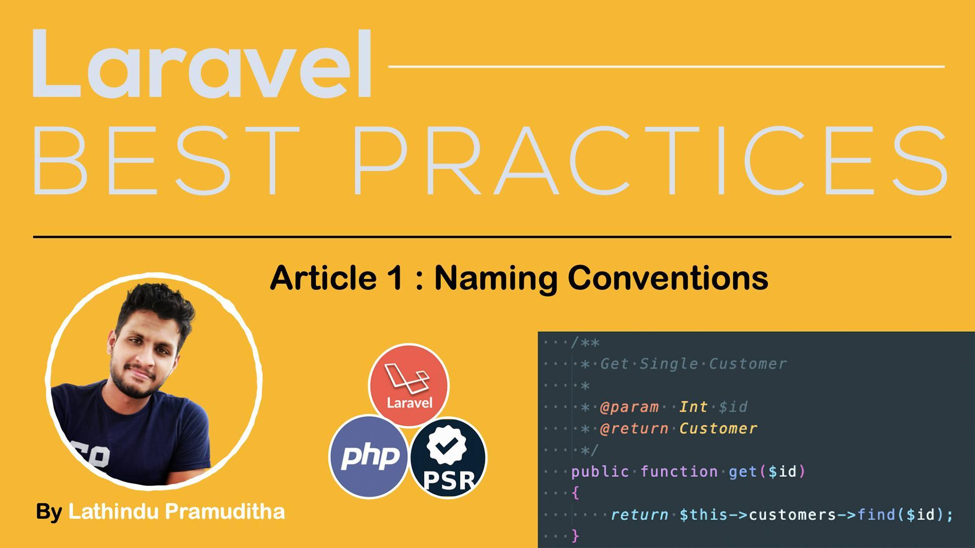 Laravel Best Practice [Coding Standards Part 01 ] 🧑🦰👩🦰