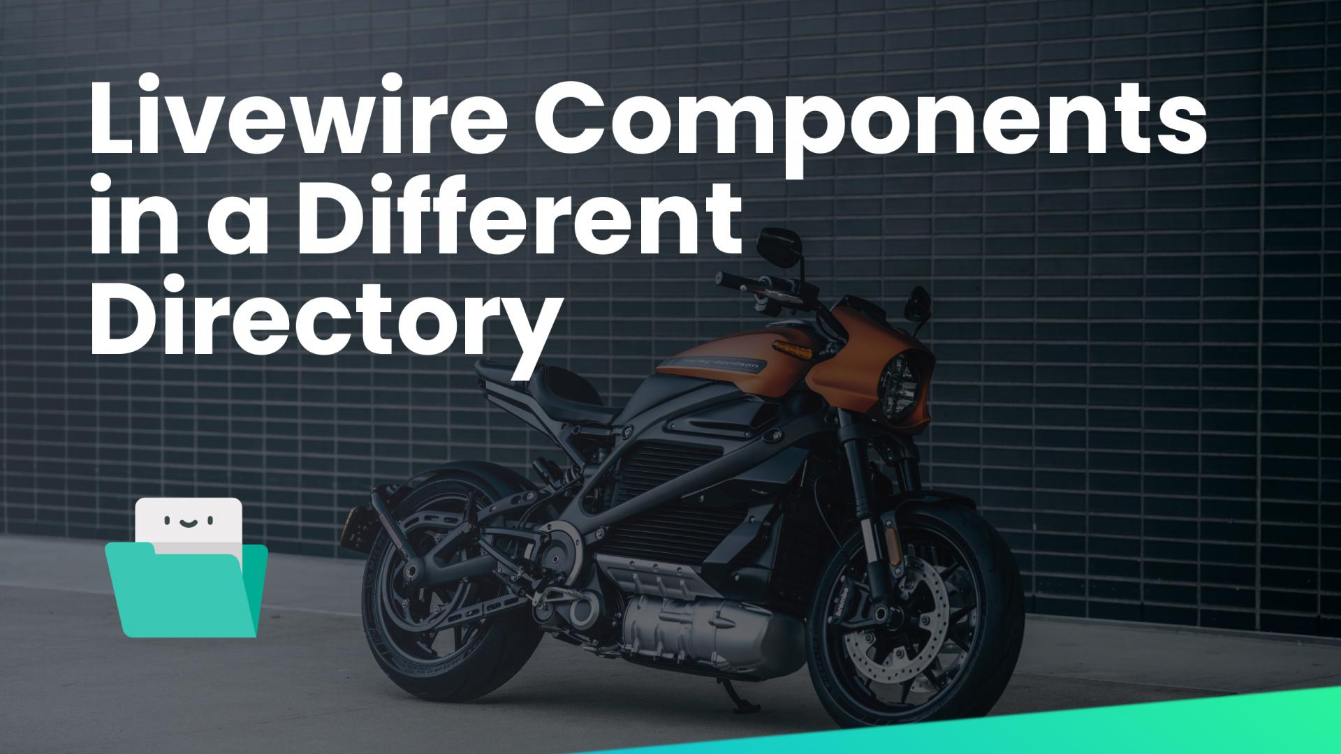 Livewire Components in a Different Directory
