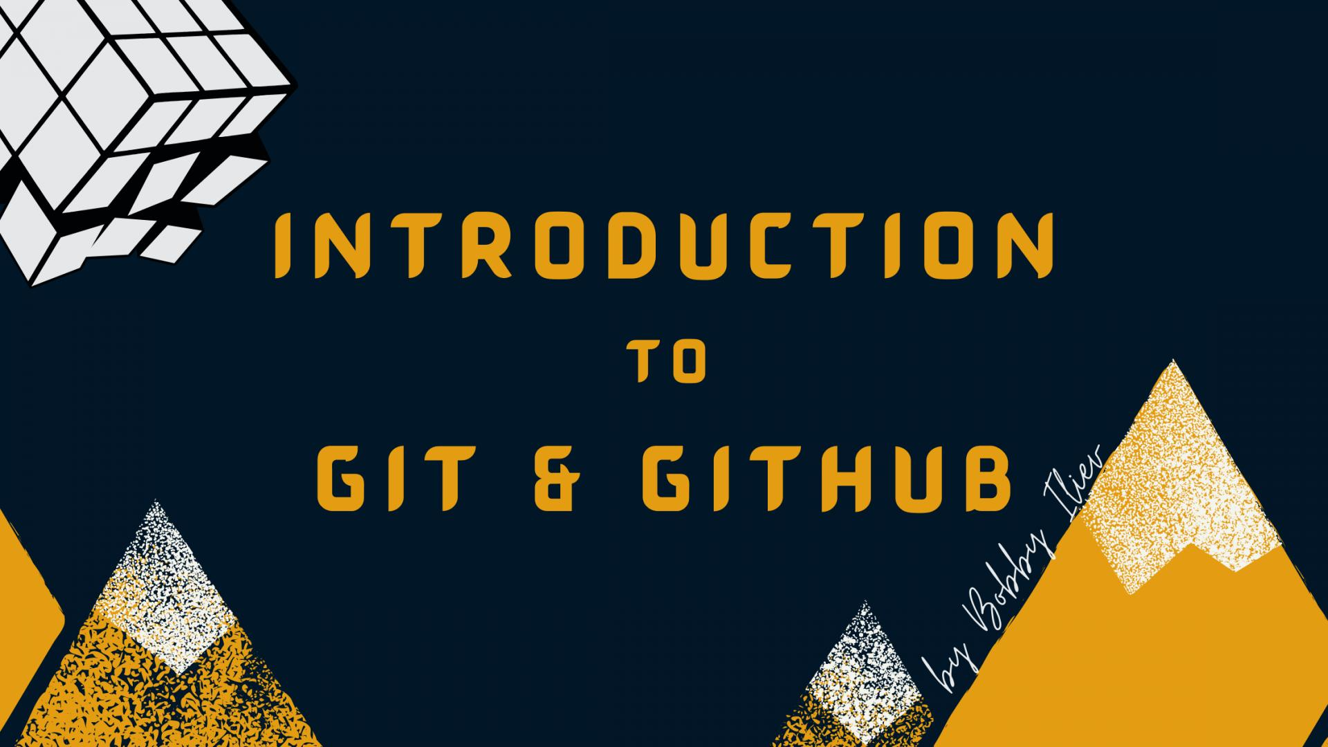 Open-source Introduction to Git and GitHub eBook 💡