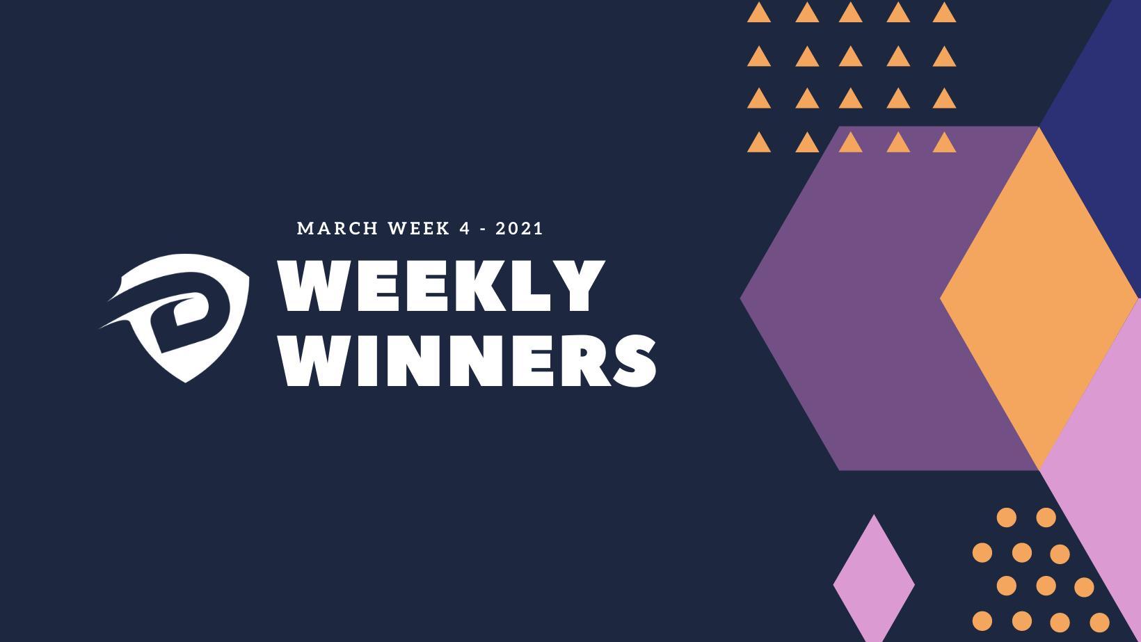 DevDojo Weekly Winners Week 4 March 2021