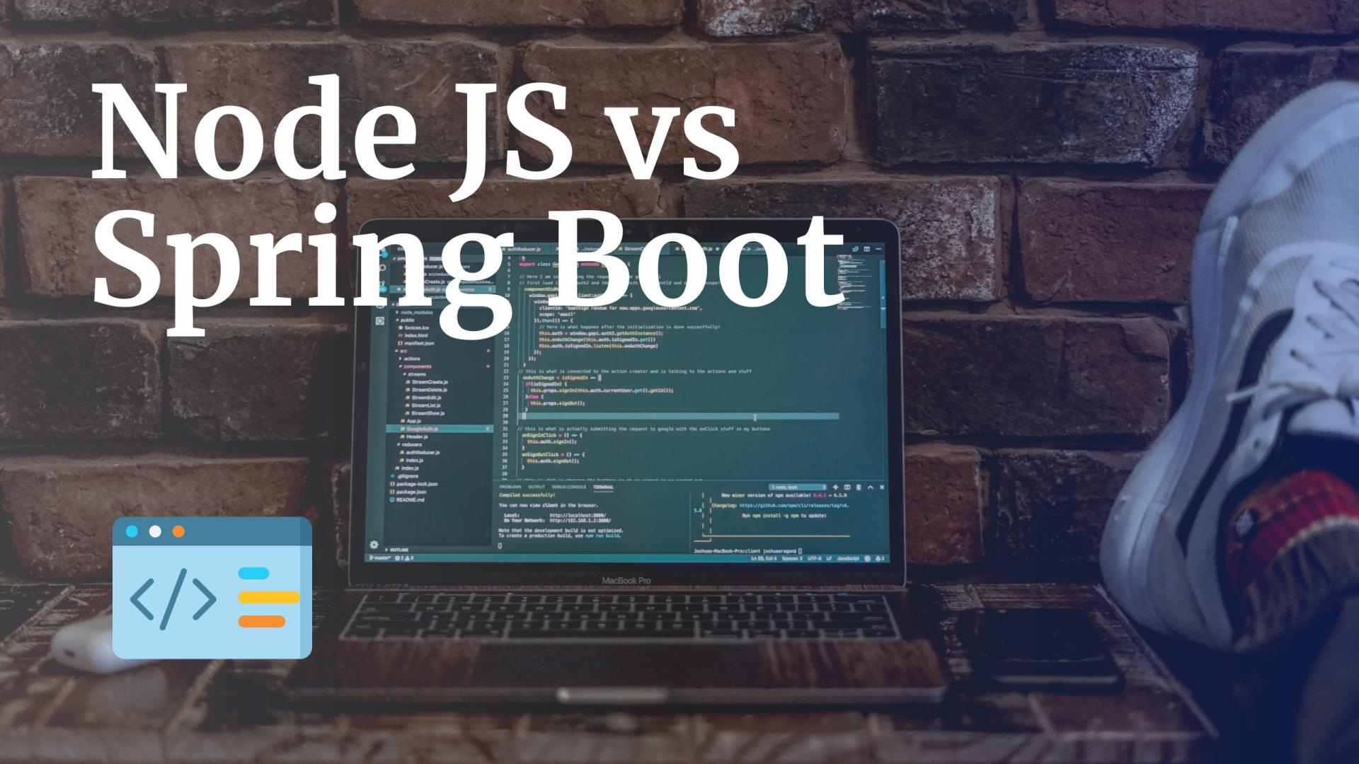 Node JS vs Spring Boot
