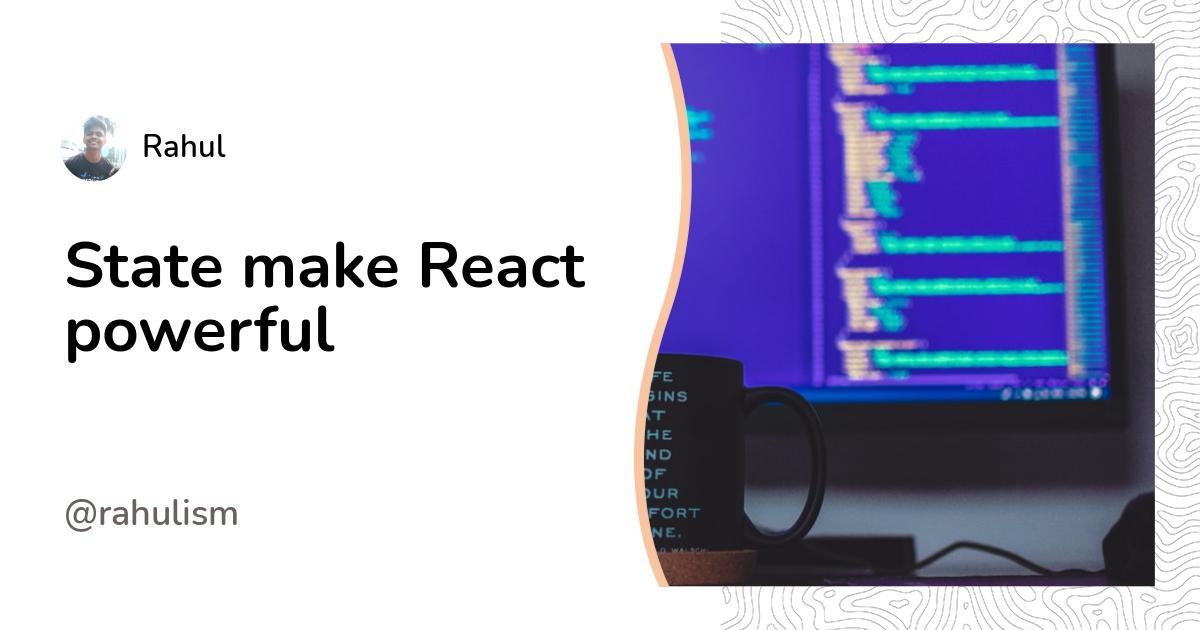 State make React powerful