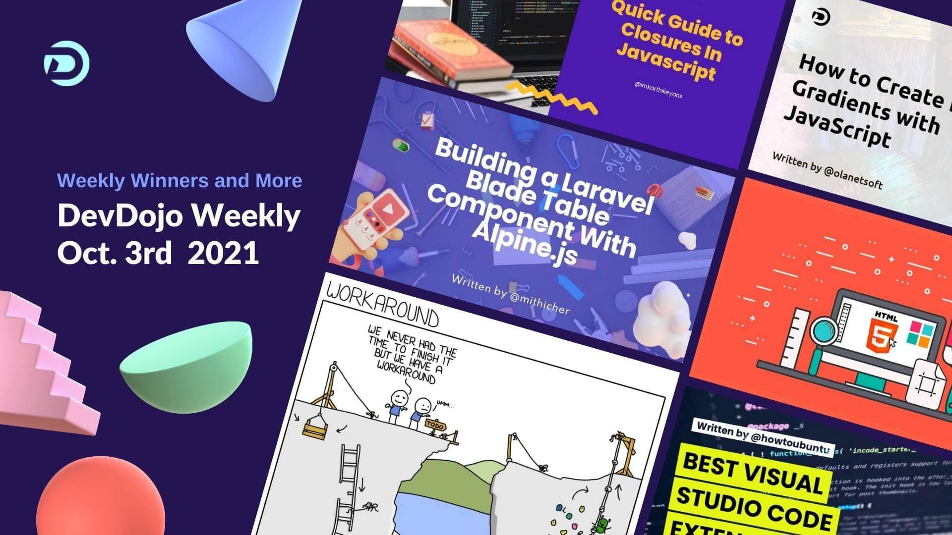 DevDojo Weekly - Oct. 10th  2021