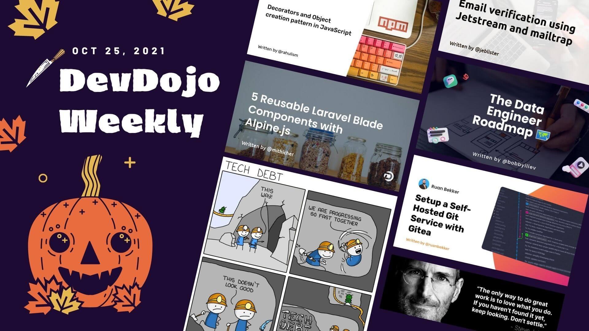 DevDojo Weekly - Oct. 23rd  2021