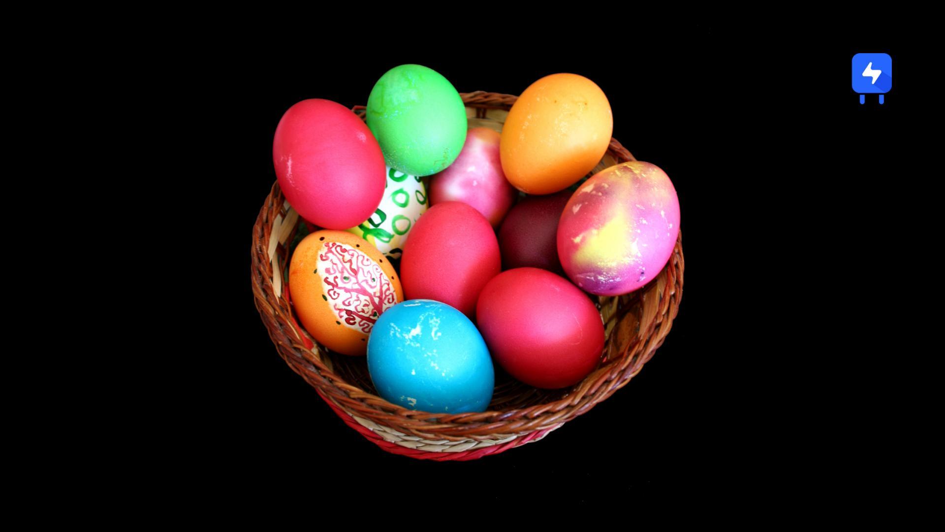 Easter eggs using Rooks